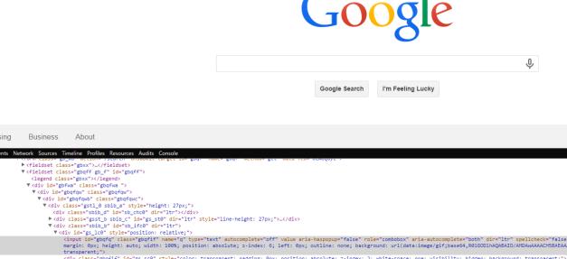 GoogleDropdown