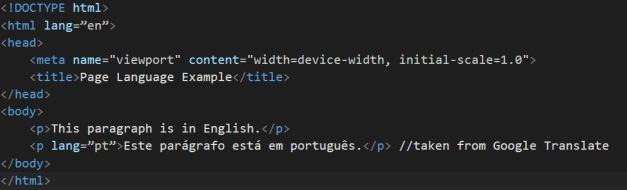 htmllang